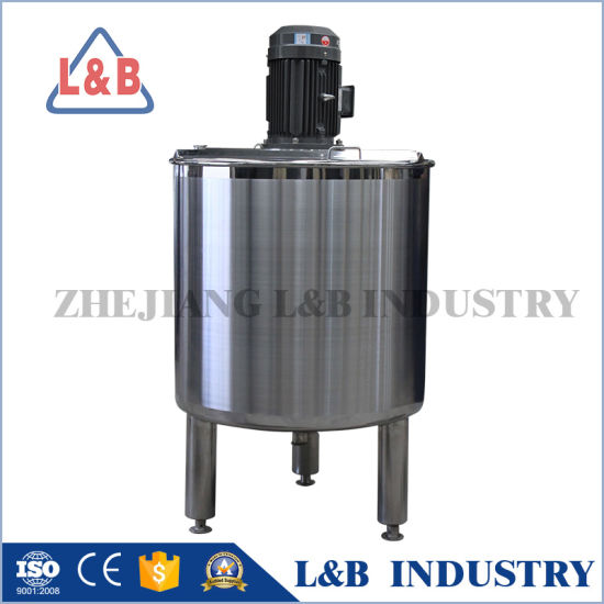 Food Grade Stainless Steel Electric Heating Mixing Tank pictures & photos