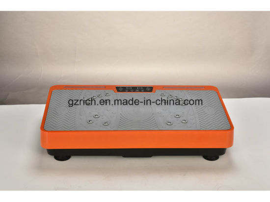 Ultrathin Electric Crazy Fit Massager Vibration Plate Fitness Machine pictures & photos