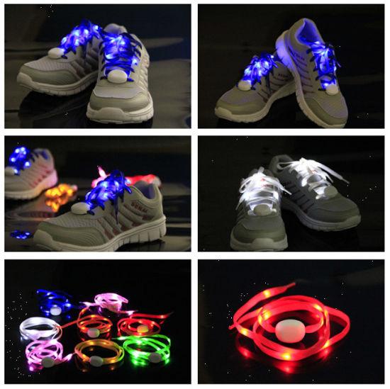 Nylon LED Lighting Party Shoelace