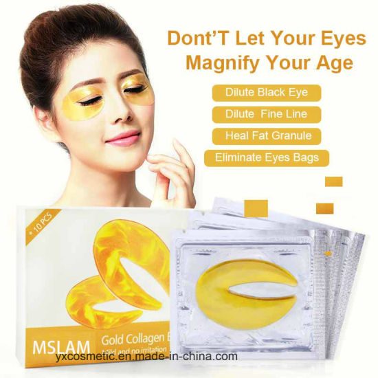 Eye Mask 24K Gold Collagen Facial Mask Crystal
