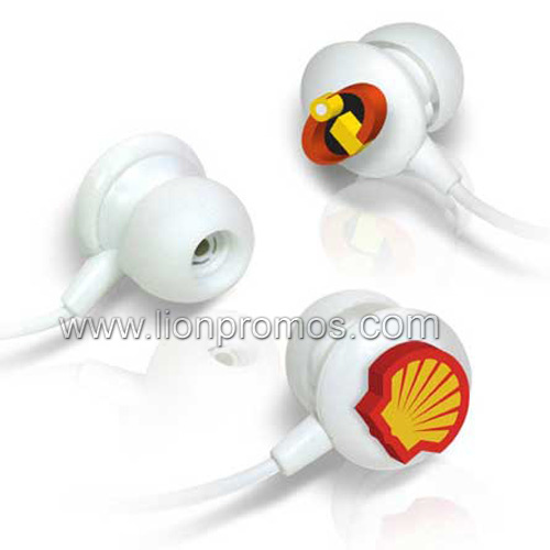 Custom Logo Oil Gas Beverage Beer Promotional Gift in Ear Earphone for Mobile/iPad pictures & photos