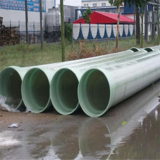 High Strengh FRP Pipe GRP Pipe Fiberglass Pipe Price pictures & photos