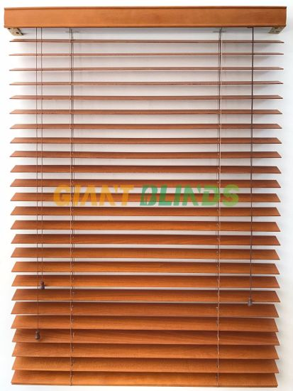 China 2 Inch Faux Wood Venetian Blinds With Valance China Vertical