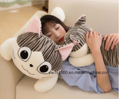 Lovely Stuffed Toy Plush Cat Pillow