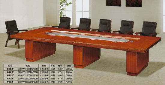 China Office Furniture Wooden Person Conference Table FEC H - 8 person conference table