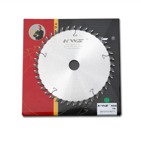 Tungsten Carbide Tipped Saw Blade for Aluminum Grooving Slotting with Flat Tooth Feature