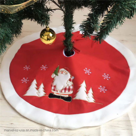 Christmas Tree Skirts Carpet Blanket Christmas New Year Home Decorations