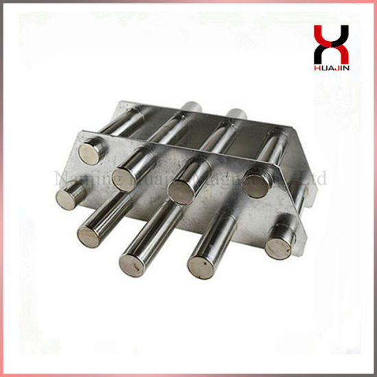 High Gauss Metal Filter Magnetic Grid Round Magnetic Frame