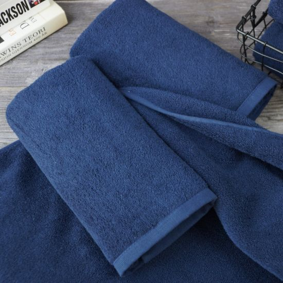 SEE SIZE OPTIONS Blue Label 500gsm Plain Chocolate Brown Face Cloth