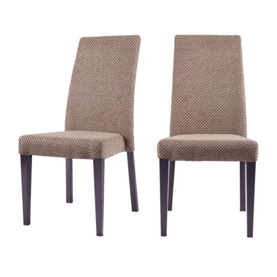 Banquet Restaurant Furniture Wholesale Modern Wooden Like Metal Velvet Fabric Upholstered Hotel Dining Chair