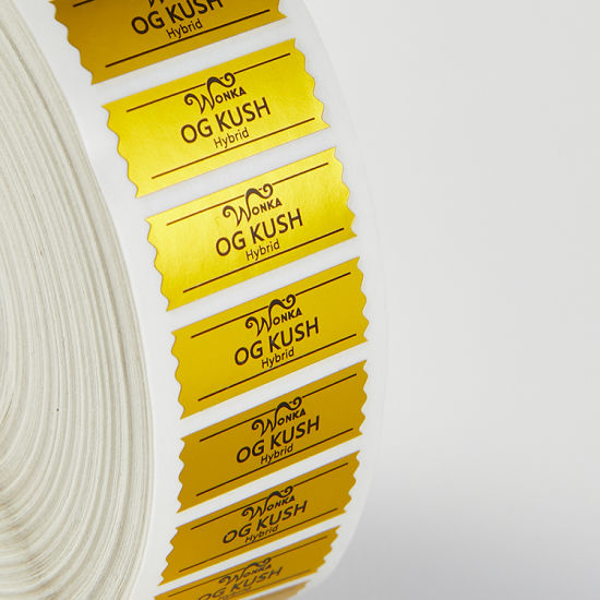 Custom Printed Electronic Labels, Stickers, Adhesive Label