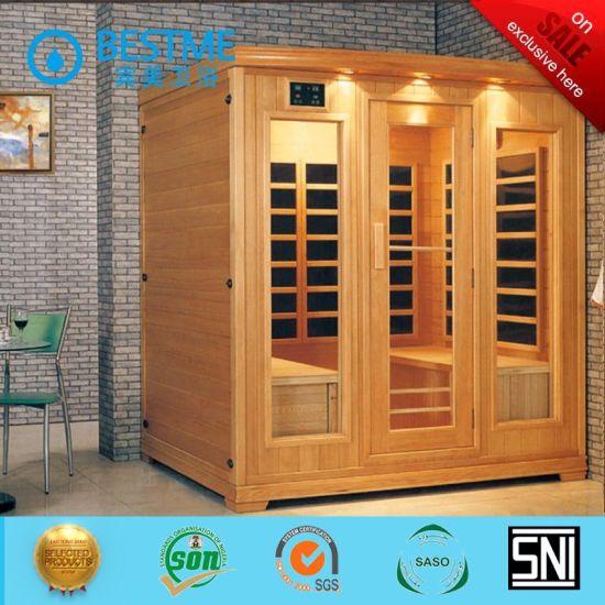 Foshan Factory Bathroom Glass Infrared Sauna Room (BZ-5037)