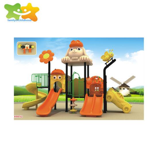 A01 Kids Public Plastic Outdoor Playground Equipment Slide
