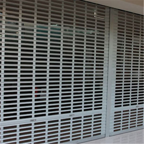 Electronic Security Grill Roller Shutter Door Home Security Shutter