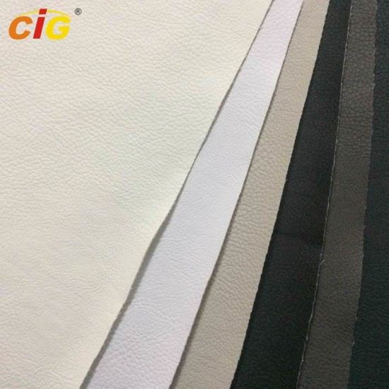 All Color Artificial Leather Material for Handbag, PVC Synthetic Leather 20-60m/Roll