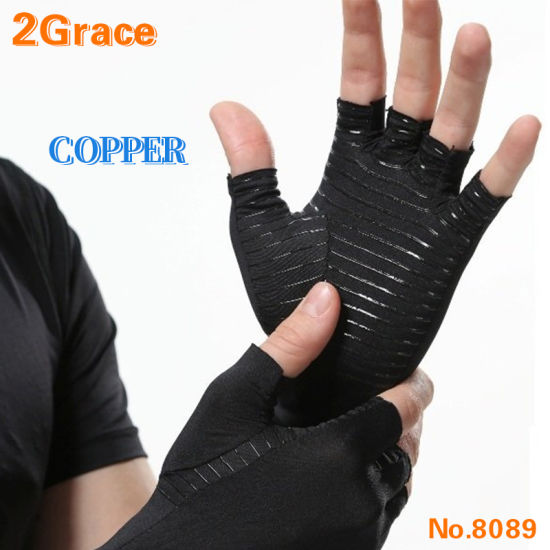 Copper Infused Copper Compression Glove for Arthritis Everyday Support Copper Glove for Carpal Tunnel