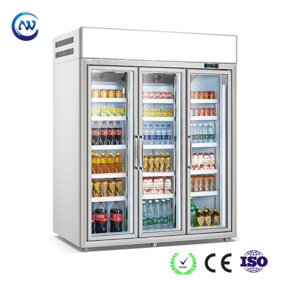 China three glass doors commercial soft drink beverage display three glass doors commercial soft drink beverage display freezer lg 196 planetlyrics Gallery