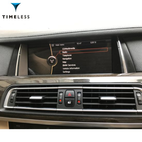 "Andriod Car Audiotimelesslong Car DVD for BMW 7 Series F01 F02 (2009-2012) Original Cic System 10.25"" OSD Style with GPS/WiFi (TIA-217) pictures & photos"