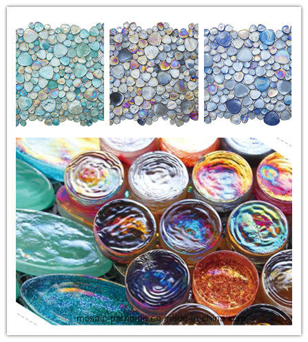 Wholesale Beautiful Stained Glass Mosaic Tile for Indoor Wall