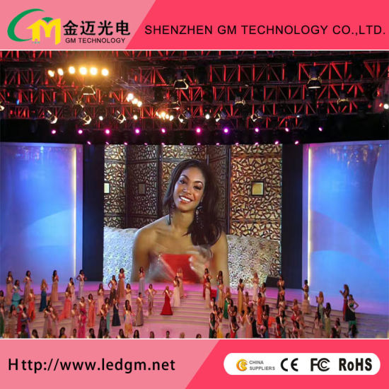 Indoor P3.91mm Rental Full Color LED Screen with Ce RoHS CCC UL