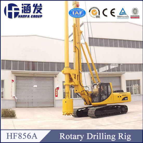 Hf856A Efficiency Rotary Drilling Rig Ce&ISO Certification pictures & photos