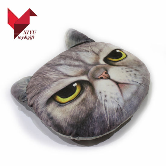 Wholesale Cute Cat Plush Stuffed Soft Car Cushion pictures & photos
