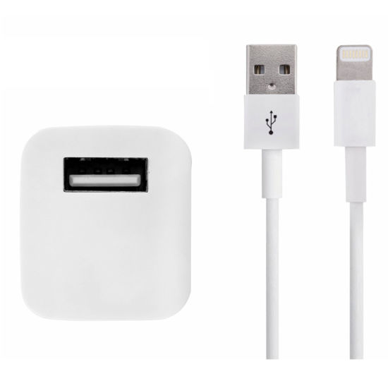 Travel USB Cable Mobile Phone Charger for iPhone