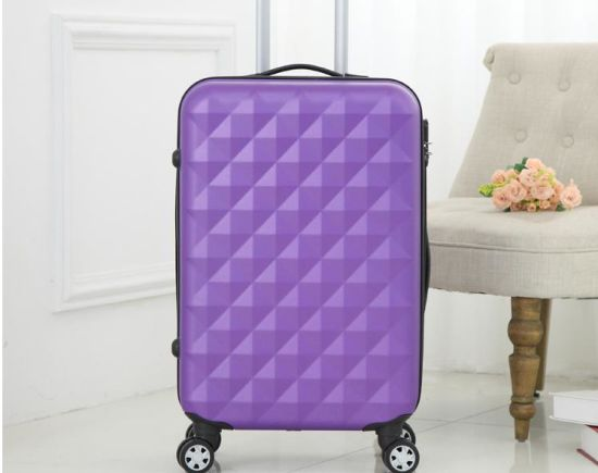 ABS Protector Water Cube Trolley Case Luggage pictures & photos