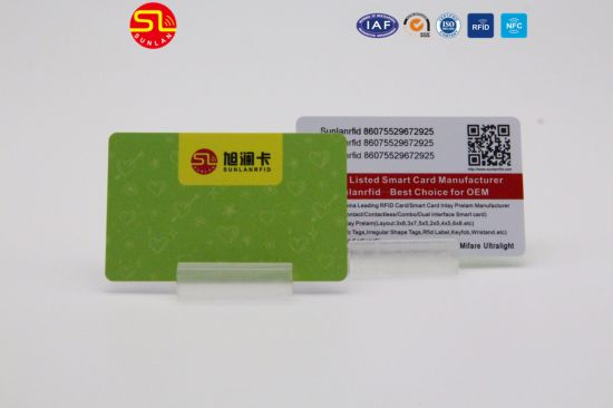 High Quality RFID Printing Plastic Student ID Card pictures & photos