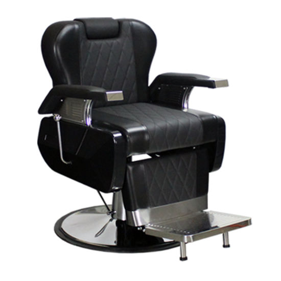 china luxury barber chair with adjustable headrest salon haircut