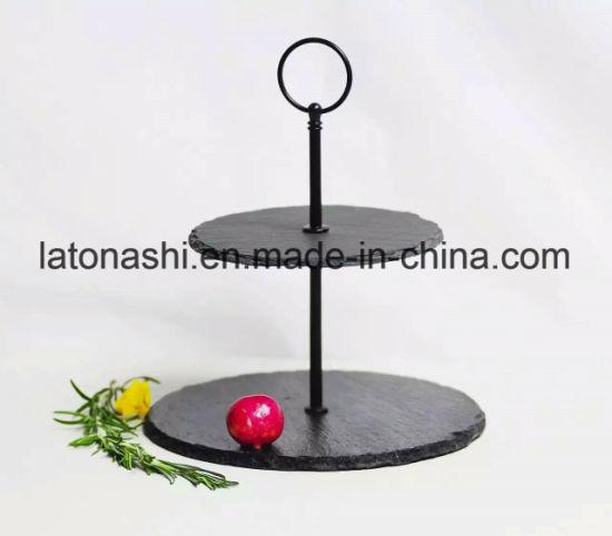 Natural Stone Slate Dinner Plate Heart Tableware Slate  sc 1 st  Xiamen Kao Shi Imp. u0026 Exp. Co. Ltd. & China Natural Stone Slate Dinner Plate Heart Tableware Slate - China ...