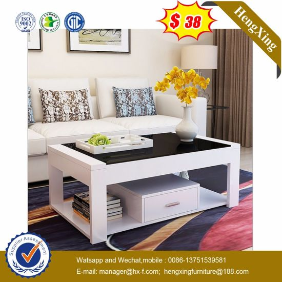 2019 Modern Veneer Hotel Hot Sell Press Traditional Glass Table Furniture (UL-MFC0263)
