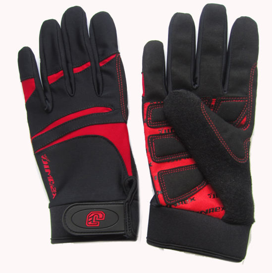 Sport Fashion Outdoor Gym Bicycle Glove (Jg15X029) for Your Health