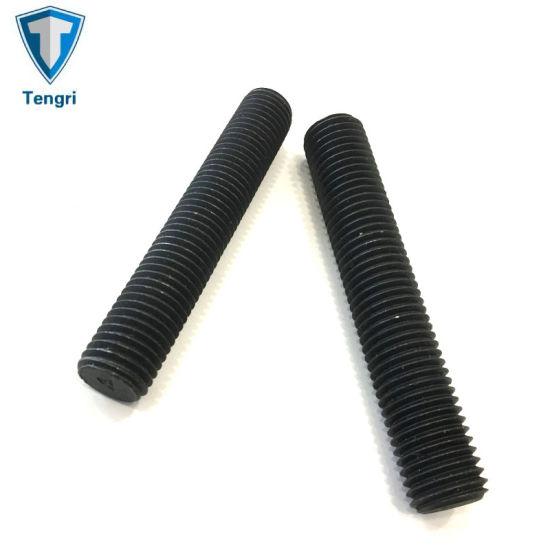 Customize Stud Bolt Black Oxide Thread Rod Steel Rod