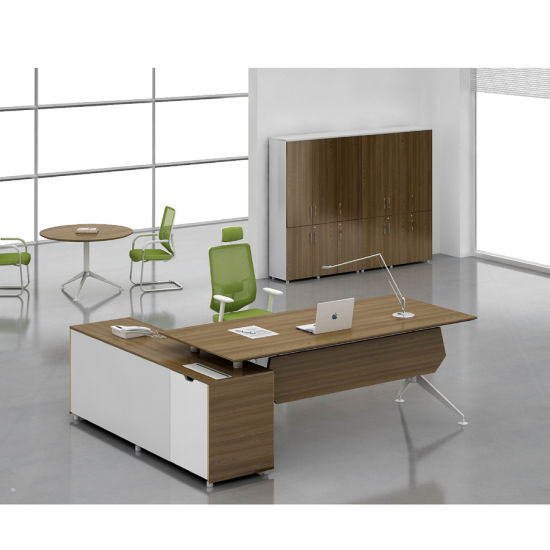 Office Desk Boss Desk Office Furniture Table Factory Directly Sales Mingle Furniture