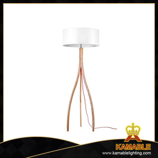 China Guest Room High Quality Branch Wooden Floor Lamp Lbmd Zy