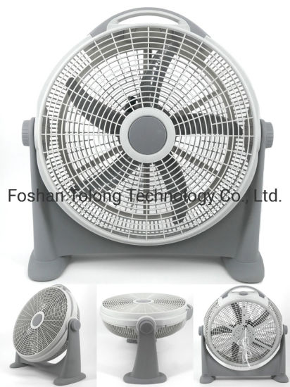 Colorful Kids Industrial Commercial Office Electric Rotate Stand Box Fan