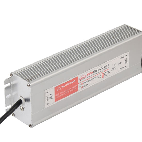 200W 48VDC 4.2A LED Driver Waterproof IP67 Power Supply Unit pictures & photos