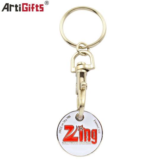Black Keyring High quality electroplating Metal Split Key Ring Keychain All Size