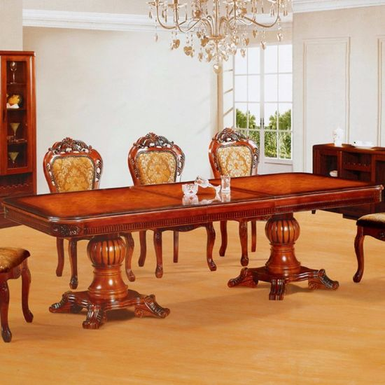Wooden Dining Table with Wood Chair for Home Furniture (807) pictures & photos