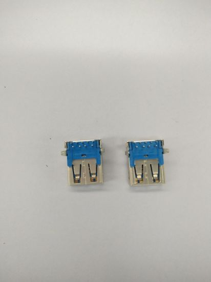 Wholesales Vertical a Type Right Angle USB 3.0 Connector