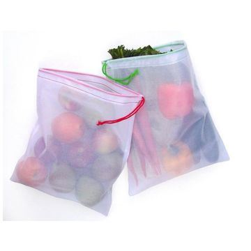 Breathable for Vegetables and Fruits Washable Mesh Bags pictures & photos