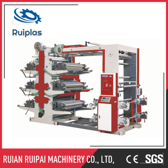 6 Color Flexo Printing Machinery pictures & photos