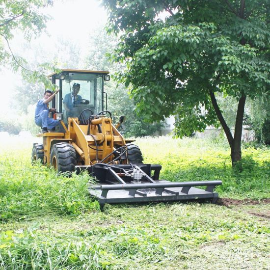 Best Quality Hcn Brand 0508 Hydraulic Lawn Mower Compatible to Bobcat Skid Steer Loader, Excavator and Loader Grass Cutter Brush Slasher for Sale