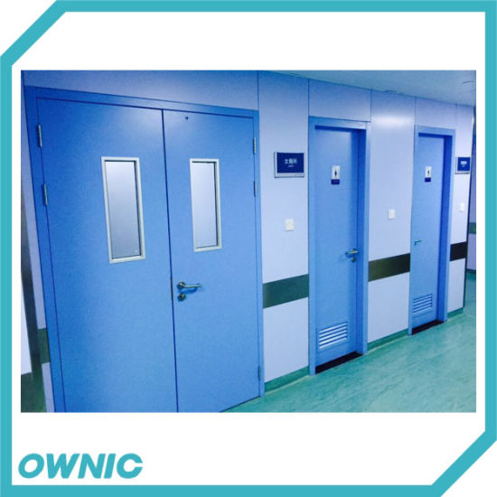 Steel Swing Door for Ward Sliding Open