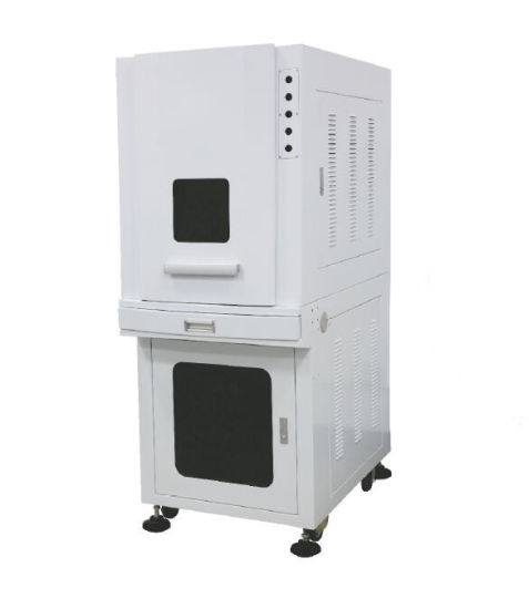 Mhx Pure White Enclosed Cabinet for Laser Marking
