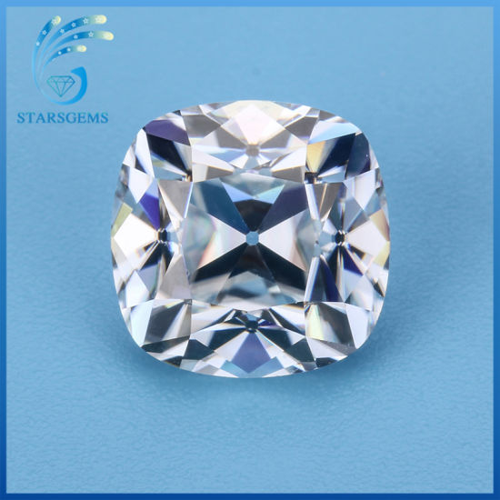 6.6X6.5mm Square Cushion Antique Old Mine Cut Moissanite for Vintage Moissanite Jewelry pictures & photos