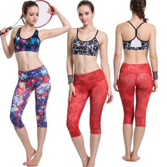 Factory Various Custom Wholesale Sublimation Gym Sport Yoga Wear