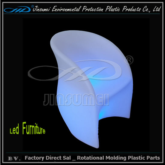 LED Lighting Plastic Chair in Rotation Moulding pictures & photos
