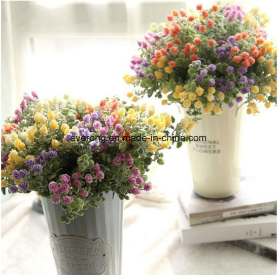 China Artificial Flower Corsage Artificial Red Berry Bush Plants